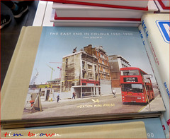 The Magnificent Tim Brown (roll the dice) Tags: london eastend hoxtonpress colour bus traffic docklands old retro bygone surreal changes collection uk classic art urban dirty derlict england media book museum chnages nostalgia comparison mad regeneration tube underground disused vanished demolished bargain shops shopping canon tourism tourists ruins legend eighties bishopsgate city essex theeastend print photos