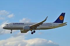Lufthansa D-AINC Airbus A320-271N cn/6920 @ EDDF / FRA 30-04-2018 (Nabil Molinari Photography) Tags: lufthansa dainc airbus a320271n cn6920 eddf fra 30042018