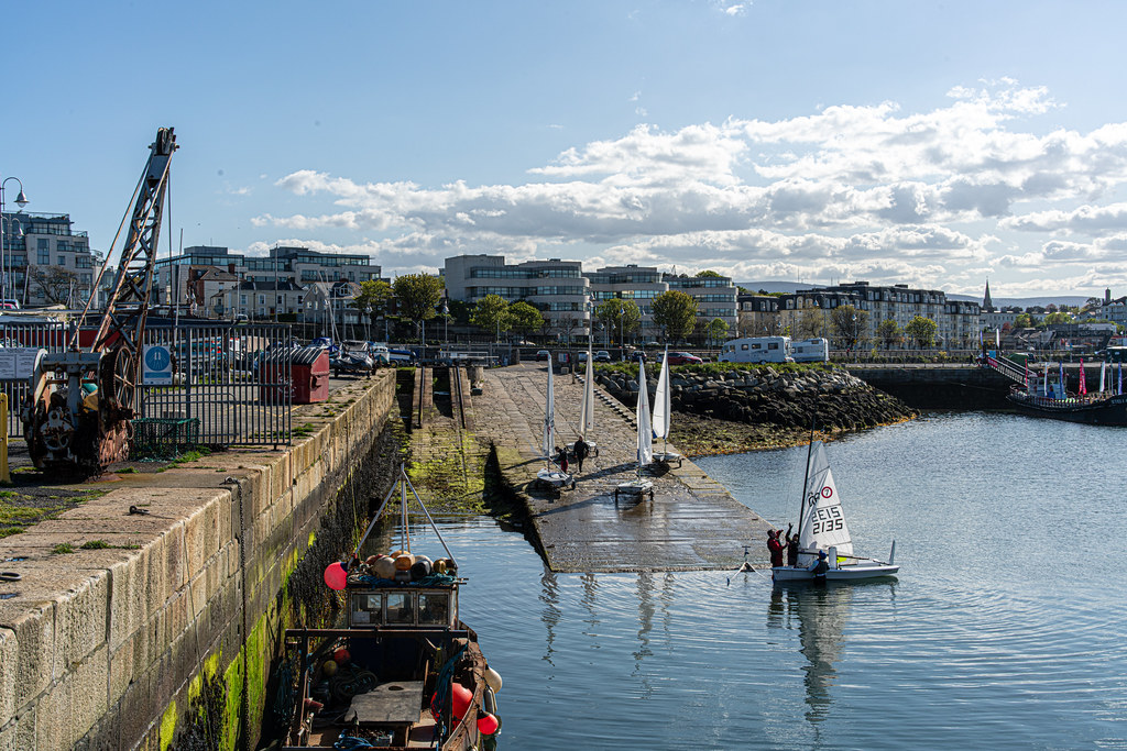 TRADERS' WHARF AREA [WEST PIER DUN LAOGHAIRE HARBOUR]-152248