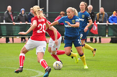 Bristol City Women vs West Ham United Women (Baker_1000) Tags: 2019 bristol stokegifford bristolcity bristolcitywomen womensfootball football westham westhamunited westhamunitedwomen wsl1 womenssuperleague spring nikon d90 nikond90