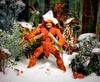 Marvel Legends Apocalypse Sasquatch ToyBiz action figure getting snow plopped on (Splittyhead Toys) Tags: christmas actionfigure toy doll holiday bigfoot cryptid superhero