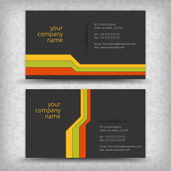 Vector abstract creative business cards (diptasaha.lpu.cse) Tags: card business design vector visit abstract set icon silver id name fashion decoration print advertise red blank concept presentation symbol template decor element simple modern creative backdrop beauty company elegance style background office branding identity