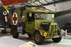 Austin K2 Ambulance (XBV 445) (Bri_J) Tags: rafmuseum hendon london uk airmuseum museum aviationmuseum nikon d7500 austin k2 ambulance xbv445 wwii