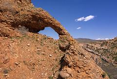 Devils Eye (Rare Photo) (Irwin Scott) Tags: devilseye croydon utah rock formation arch landscape