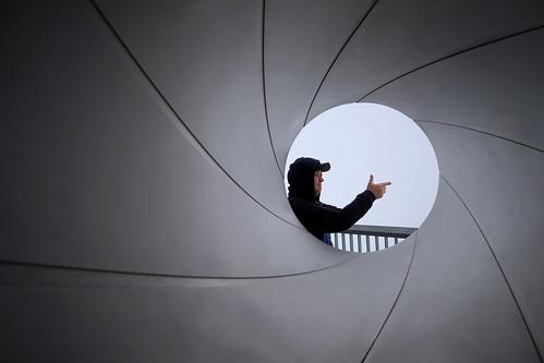 One of the James Bond films was shot on Mount Schilthorn (2,970 m). Murren, Switzerland