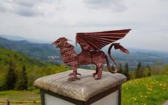Gryphon by Tomasz Krawczyk (Tomasz Krawczyk Origami) Tags: origami gryphon griffin gryph myth art krawczyk tomasz paper contest design