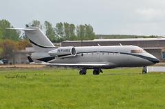 Canadair Challenger 604 N75KH Private (EI-DTG) Tags: shannonairport einn snn shannon bizjet n75kh challenger canadair bombardier 01may2019