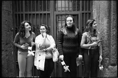 (Women in The Spanish Quarters) (Robbie McIntosh) Tags: leicamp leica mp rangefinder streetphotography 35mm film pellicola analog analogue negative leicam summilux analogico leicasummilux35mmf14i blackandwhite bw biancoenero bn monochrome argentique summilux35mmf14i autaut dyi selfdeveloped filmisnotdead bokeh leicasummilux35mmf14 summilux35mmf14preasph ilfordhp5 ilford hp5 microphen reportage street napoli naples quartierispagnoli spanishquarters cuoredinapoli