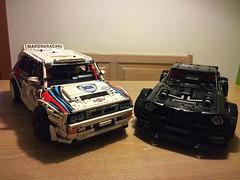 Zeta racing Lancia Delta vs. Hoonicorn- follow insta @loxlego