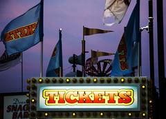 Tickets, Coney Island (doug turetsky) Tags: brooklyn amusementpark night