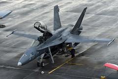 Royal Malaysian Air Force McDonnell Douglas FA-18D Hornet M45-02 (EK056) Tags: royal malaysian air force mcdonnell douglas fa18d hornet m4502 lima 19 langkawi international airport