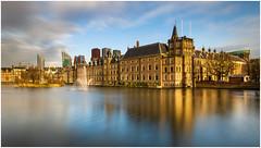 Dutch parliament building (Rob Schop) Tags: politics longexposure zuidholland hoyaprofilters nd1000 10stopper sonya6000 clouds denhaag light