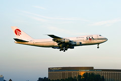 JA8155, Boeing 747-246B of Japan Asia Airways. (David James Clelford Photography) Tags: ja8155 boeing747246b japanasiaairways jaa rjaa nrt aircraft airplane airliner airport aviation civilaviation aeroplane jet jetliner tokyonaritainternationalairport 747 boeing747 boeing