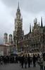 Marienplatz (Wolfgang Bazer) Tags: marienplatz neues rathaus new town hall frauenkirche towers türme kirchtürme zwiebeltürme münchen munich bayern bavaria deutschland germany