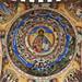 Colourful ceiling of Rila Monastery