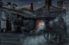 20131009_00538-Bearbeitet.jpg (markus.eymann@hotmail.ch) Tags: nacht horror kutsche architektur geisterstunde fahrzeug gebäude haus composing blaye départementgironde frankreich katalog dunkel verlassenerort schwarz ungesättigt