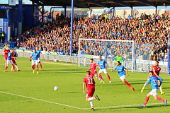 Portsmouth v Accrington Stanley (Roy Richard Llowarch) Tags: stanley accy accystanley accringtonstanley accringtonstanleyfc accringtonstanleyfootballclub portsmouth portsmouthengland portsmouthhampshire portsmouthfc portsmouthfootballclub pompey pompeyfans pompeyfootballclub playuppompey pup blues theblues frattonpark fratton frattonend portseaisland springtime spring sunny sunshine league1 leagueone football footballstadiums footballgrounds footballfans footballteams footballclubs england english englishhistory englishfootballfans englishfootball outdoor royllowarch royrichardllowarch soccer soccergrounds soccerstadiums soccerclubs soccerteams soccerfans footballers green red blue white play players teams team sports sportsmen sporting playing teamsports people places thebeautifulgame beautifulgame