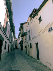 down street (jcc90) Tags: beginner nikon d610 tokina village spain extremadura españa hervas vintage