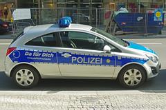 Polizei Berlin (Martijn Groen) Tags: berlin germany deutschland europe may 2018 police polizei lawenforcement emergency policedepartment policevehicle policecar car vehicle opelcorsa opel corsa