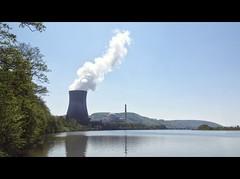 ViaRhenana 11 (Beat09) Tags: schweiz switzerland suisse rhein viarhenana rhine rheinufer atomkraftwert leibstadt kanton aargau nuclearpowerplant fluss river water wasser