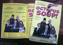 May 4th, 2019 Octopus Soup (karenblakeman) Tags: guildford surrey uk theatre yvonnearnaudtheatre programme octopussoup may 2019 2019pad