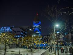 2754  Torre Agbar, Barcelona (Ricard Gabarrús) Tags: noche ciudad luces barcelona agbar ricardgabarrus olympus ricgaba