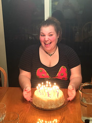 2018 YIP Day 362: Birthday girl (knoopie) Tags: 2018 december iphone picturemail 2018yip project365 365project 2018365 yiipday362 day362 kayla niece birthday