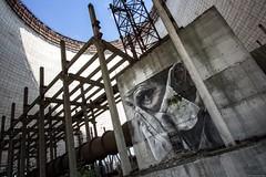 Kühlturm, Prypjat. (maecces) Tags: lost abandoned urbex ukraine tschernobyl prypjat lostplace urbanexploration wandbild
