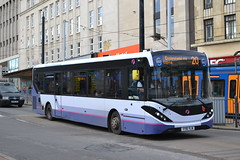 First South Yorkshire 67141 YY16YLN (Will Swain) Tags: sheffield 1st november 2018 bus buses transport travel uk britain vehicle vehicles county country england english yorkshire city centre first south 67141 yy16yln