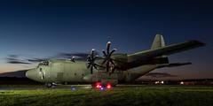 Royal Air Force Hercules C-130J ZH888 (Thames Air) Tags: royal air force hercules c130j zh888 raf abingdon nightshoot abingdonfayre