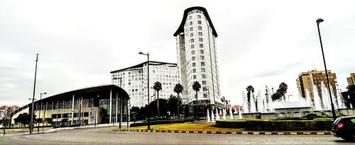 Palacio de Congresos de Valencia y Hotel Sorolla - Avenida Cortes Valencianas - Valencia