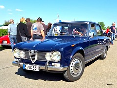Alfa Romeo (mknt367 (Panda)) Tags: outside vintage vintagecar alfaromeo giulia