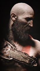 "Portraiture of ""Kratos"" (pixeldotgame) Tags: kratos playstation4 playstation gow gamephotography artwork portrait portraiture photography photomode godofwar4 godofwar"
