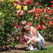 Little Girl in the Rose Garden - Huntington Library & Botanical Gardens - Pasadena, CA
