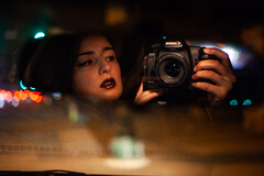 10 (BriannaCaleri) Tags: selfportrait nightportrait mirror lipstick