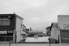 Shinjo 1 (peaceblaster9) Tags: town street shinjo yamagata japan sony rx100m3 blackandwhite bnw bw blackwhite 新庄 山形 モノクローム 白黒