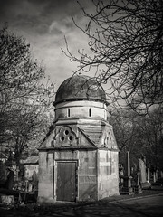 20190304-0546-Edit (www.cjo.info) Tags: 1830s 1836 19thcentury bw england europe europeanunion lambeth london m43 magnificent7 magnificentseven magnificentsevengardencemeteries microfourthirds nikcollection olympus olympuspenfgzuikoautow20mmf35 olympuspenf penfmount silverefexpro silverefexpro2 southmetropolitancemetery unitedkingdom westnorwood westnorwoodcemetery westerneurope architecture blackwhite blackandwhite building burialvault carving cemetery decay digital dome flora gravegraveyard manualfocus mausoleum monochrome oldbuilding overgrown plant stone stonework