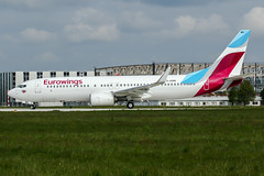 D-ABMQ (PlanePixNase) Tags: eddv haj hannover airport aircraft planespotting eurowings boeing 737800 tuifly b738 langenhagen
