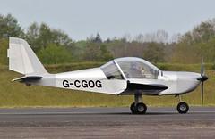 G-CGOG Evektor EV-97A Eurostar at Abingdon 2019 . (Bob Symes) Tags: abingdon ev97 ev97a gcgog evektor evektoeurostar eurostar laa315a14980