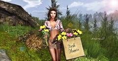 Fresh Flowers... (SoliCaproni) Tags: maitreya • ella secret poses rezology ace sense