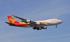 Cargo from China (Treflyn) Tags: suparna airlines boeing 747 747400 744 747f 747400f freighter b1340 ams amsterdam schiphol airport cargo flight zhengzhou xinzheng international cgo china