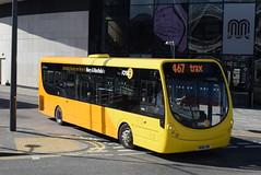 RT 616 @ Rochdale Interchange (ianjpoole) Tags: rosso transport wright streetlite max df sk66hrl 616 working route trax 467 rochdale interchange bury