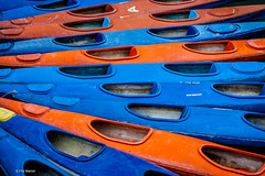 Kayaks - Halong Bay, Vietnam (Phil Marion (173 million views - THANKS)) Tags: kayak boats composition fan colours vietnam abstract happyplanet asiafavorites