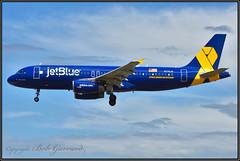 "N775JB JetBlue Airways  ""Veterans"" (Bob Garrard) Tags: n775jb jetblue airways veterans vetsinblue bwi kbwi airbus a320"