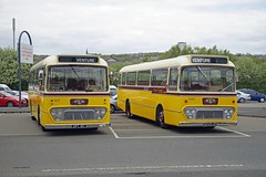 GATESHEAD 050519 UPT517 & 6249UP 1 (SIMON A W BEESTON) Tags: gateshead metrocentre northeastbuspreservationtrust 84 rtitb alexander leyland leopard tms585h upt173 249 venture 6249up