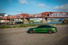 2019 Audi RS5 Sportback (Rob Overcash Photography) Tags: audi rs5 sportback b9rs5 b9s5 sonomagreen vossen forged abtsportsline