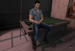 Do you want to play?  #4 (Mafioso19666) Tags: billar elegant man lgbt game life second