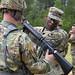 South Carolina National Guardsmen qualify on the M16A2 rifle