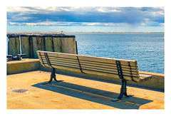 On the Pier (Timothy Valentine) Tags: capecod 0419 large bench ptown pier 2019 monday provincetown massachusetts unitedstatesofamerica