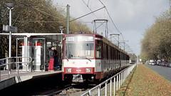 2004-11-13 Düsseldorf Tramway Nr.4216 (beranekp) Tags: germany deutschland düsseldorf tramway tramvaj tram tranvia strassenbahn šalina elektrika električka ubahn underground metro 4216